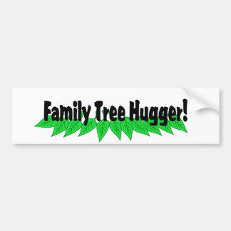 Árbol de familia Hugger Pegatina De Parachoque