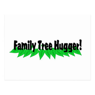 Árbol de familia Hugger Postales