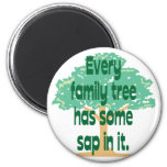 Árbol de familia iman de nevera
