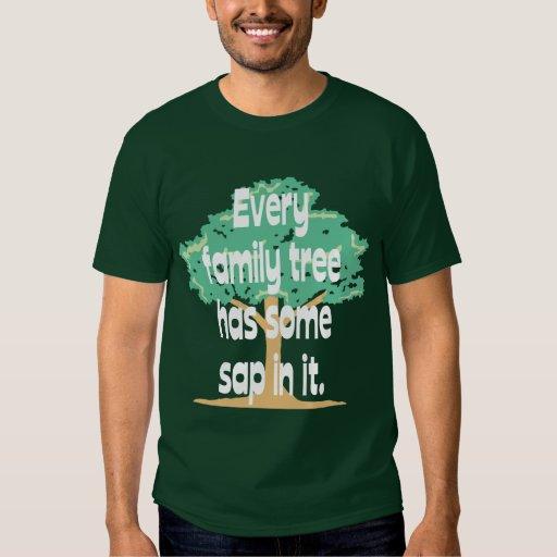 Árbol de familia remeras