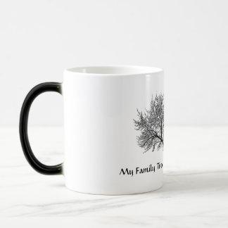 Árbol de familia taza mágica