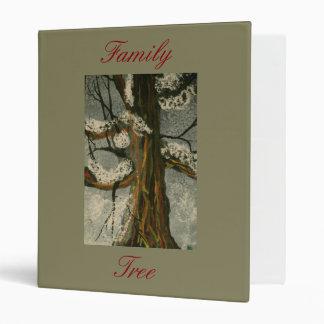Árbol de familia una carpeta de la foto de la