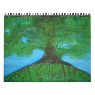 Árbol de familia calendario