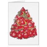 Árbol de fresa tarjetas