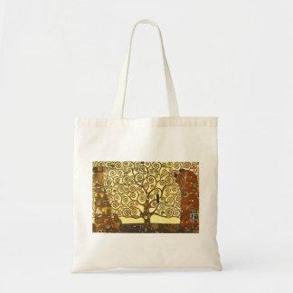 Árbol de Gustavo Klimt de la bolsa de asas de la v