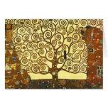 Árbol de Gustavo Klimt de la tarjeta de felicitaci