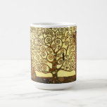 Árbol de Gustavo Klimt de la taza de la vida