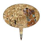 Árbol de Gustavo Klimt de la vida Decoración De Tarta
