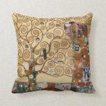 Árbol de Gustavo Klimt de la vida Almohadas