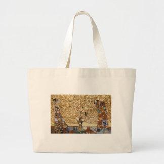 Árbol de Gustavo Klimt de la vida Bolsa De Mano