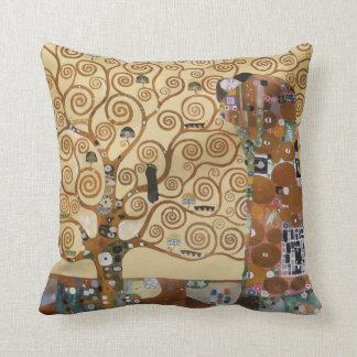 Árbol de Gustavo Klimt de la vida Cojines