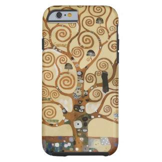 Árbol de Gustavo Klimt de la vida Funda Para iPhone 6 Tough