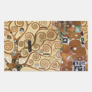 Árbol de Gustavo Klimt de la vida Pegatina