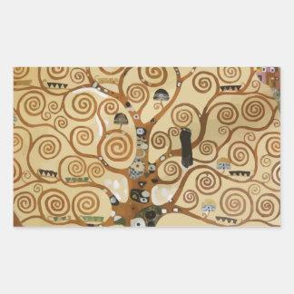 Árbol de Gustavo Klimt de la vida Pegatinas