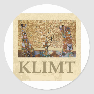 Árbol de Gustavo Klimt de la vida Etiquetas