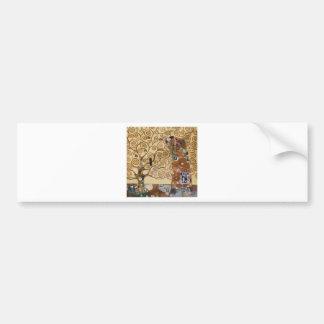 Árbol de Gustavo Klimt de la vida Pegatina Para Auto