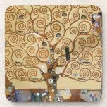 Árbol de Gustavo Klimt de la vida Posavaso