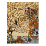 Árbol de Gustavo Klimt de la vida Postales