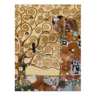 Árbol de Gustavo Klimt de la vida Tarjeta Postal