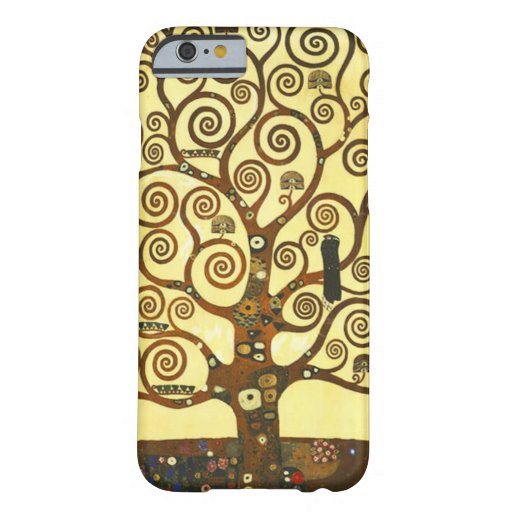 Árbol de Gustavo Klimt del caso del iPhone 6 de la Funda De iPhone 6 Barely There