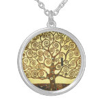 Árbol de Gustavo Klimt del collar de la vida