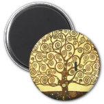 Árbol de Gustavo Klimt del imán de la vida