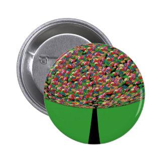 Árbol de haba de jalea pin redondo 5 cm