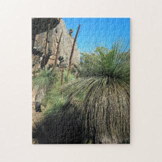 Árbol de hierba 01 rompecabezas con fotos