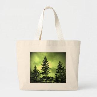 Árbol de hoja perenne bolsas