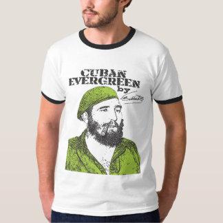 Árbol de hoja perenne del cubano de Fidel Castro Playera