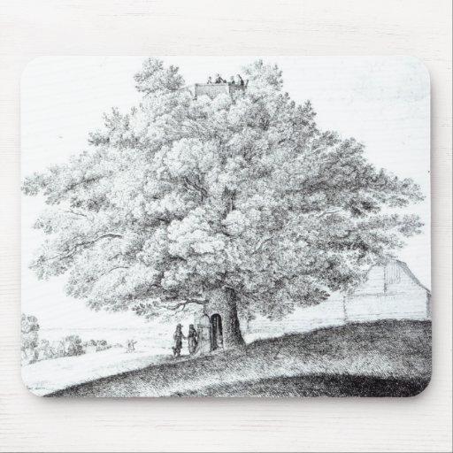 Árbol de hueco en Hampstead, 1663 Alfombrillas De Ratón