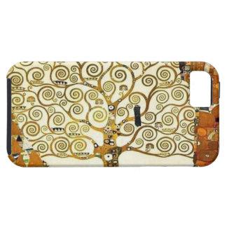 Árbol de Klimt de la vida iPhone 5 Cobertura