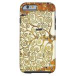 Árbol de Klimt de la vida Funda De iPhone 6 Tough