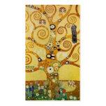 Árbol de Klimt de la vida Tarjetas De Visita