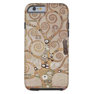 Árbol de Klimt del vintage de la vida Funda Para iPhone 6 Tough