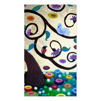 Árbol de Klimt Tarjetas De Visita
