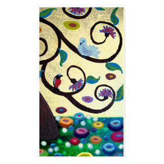 Árbol de Klimt Tarjeta De Negocio