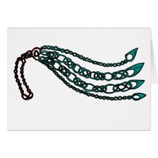 Árbol de Knotwork del Celtic del arrastramiento Tarjeta De Felicitación