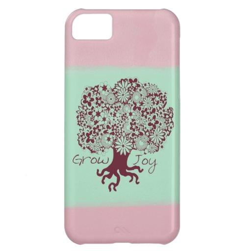 Árbol de la alegría funda para iPhone 5C