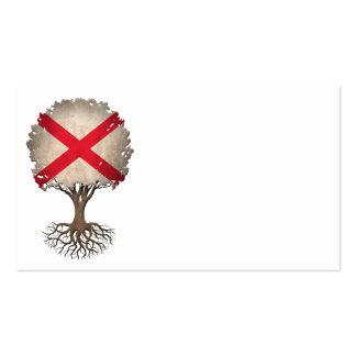Árbol de la bandera de Irlanda del Norte del Tarjetas De Visita