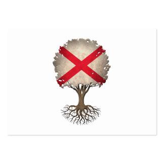 Árbol de la bandera de Irlanda del Norte del Tarjetas De Visita Grandes