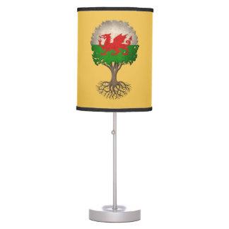 Árbol de la bandera Galés del personalizable de la