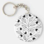 Árbol de la bellota llavero personalizado
