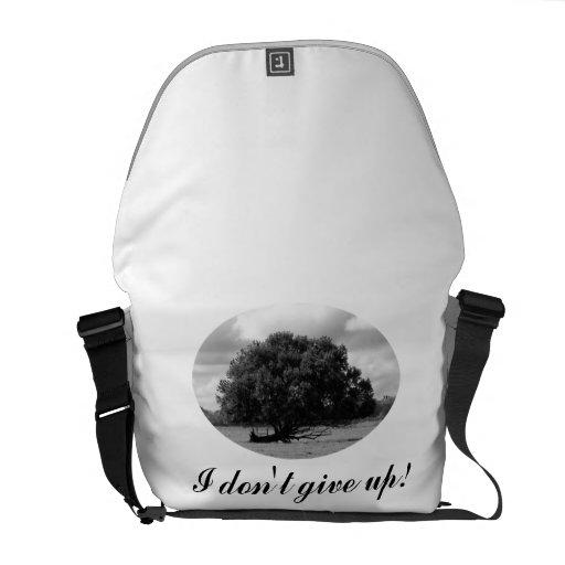 Árbol de la bolsa de mensajero de la vida bolsa messenger