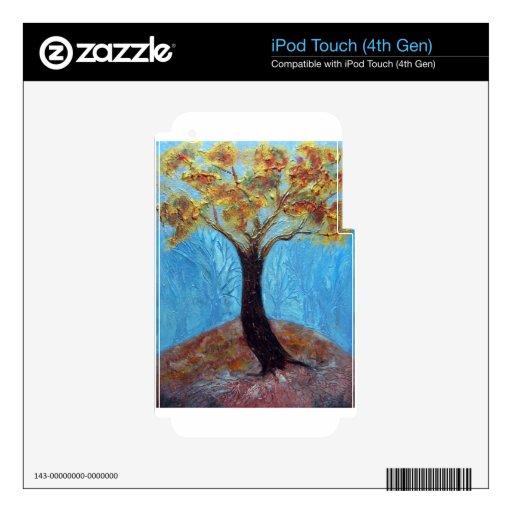 Árbol de la caída - acrílico iPod touch 4G skins