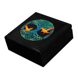Árbol de la caja de la vida cajas de recuerdo