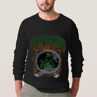 Árbol de la camiseta del raglán de los hombres de