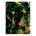 Árbol de la decoración de la alegría del navidad postales