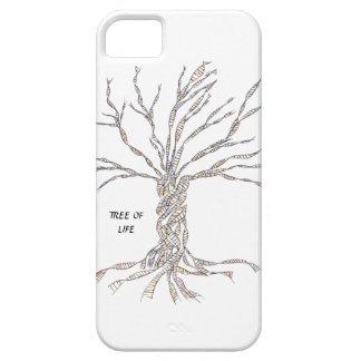 ÁRBOL de la DNA o árbol de la vida iPhone 5 Carcasas