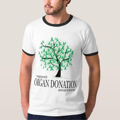 Árbol de la donación de órganos remeras